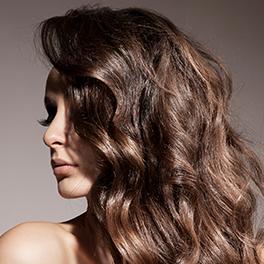 woman hair model